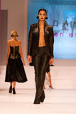 8th Istanbul Leather Fair runway Royalty Free Stock Images