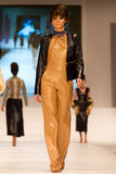 8th Istanbul Leather Fair runway Stock Photography