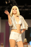 8th Istanbul Leather Fair runway Stock Images