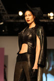 8th Istanbul Leather Fair runway Royalty Free Stock Photography