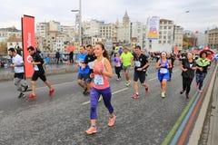 39th Istanbul Marathon Stock Image
