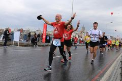 39th Istanbul Marathon Stock Photography