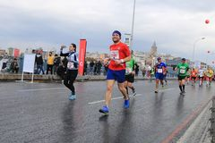 39th Istanbul Marathon Royalty Free Stock Image