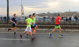 39th Istanbul Marathon Royalty Free Stock Photo