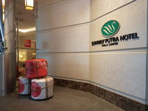 15th januari 2017, Kuala Lumpur I blick av hotellet Sunway Putrael Sunway Royaltyfria Foton