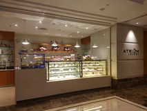 15th januari 2017, Kuala Lumpur I blick av hotellet Sunway Putrael Sunway Royaltyfri Foto