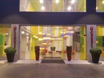 14th Januari 2017, Kuala Lumpur Restauranginlook på ibits utformar hotellet Sri Damansara Arkivbild