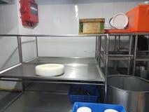 8th Januari 2018, Kuala Lumpur Utrustning för bankettkökknipa av balsalen Arkivbilder
