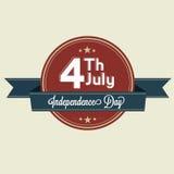 4th juli Arkivbilder