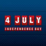 Th juli för självständighetsdagen 4 lycklig självständighet för dag royaltyfri illustrationer