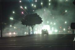 4th Juli i Oakland Kalifornien Arkivbilder