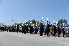4th Juli ståtar Huntington Beach CA USA Royaltyfri Bild