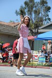 4th Juli ståtar Huntington Beach CA USA Fotografering för Bildbyråer