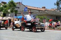 4th Juli ståtar Huntington Beach CA USA Royaltyfria Foton