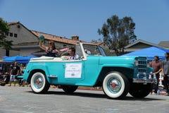 4th Juli ståtar Huntington Beach CA USA Arkivbilder