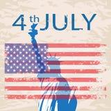 4th_of_July διανυσματική απεικόνιση