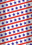 4th of July American independence day. Abstract vector illustration Royalty Free Stock Photos