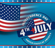 4th July American Independence Day Stock Photography