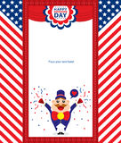 4th of July, American Independence Day background. This is American Independence day templates design. Vector File vector illustration