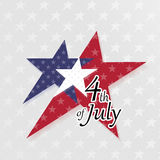 4th of July. American Independence Day celebration concept Royalty Free Stock Image