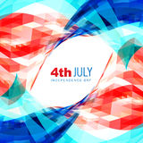 4th of july american independence day. Vector 4th of july american independence day background Stock Photos