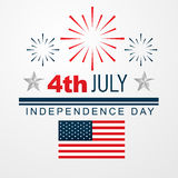 4th of july american independence day Royalty Free Stock Photos