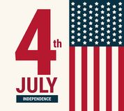 4th of July American independence day vector. 4th of July American independence day vector, vector illustion flat design style vector illustration