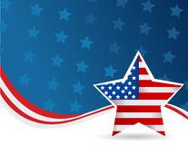 4th July background. Abstract 4th July background vector royalty free illustration