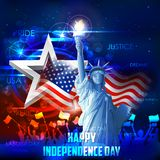 4th of July background Stock Image