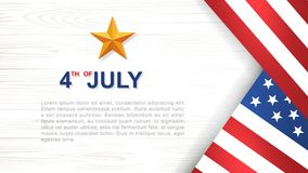 4th of July - Background for USAUnited States of America Independence Day. 4th of July - Background for USAUnited States of America Independence Day with white royalty free illustration