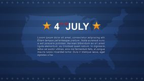 4th of July background for USAUnited States of America Independence Day. Vector illustration vector illustration