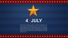 4th of July - Background for USAUnited States of America Independence Day. 4th of July background for USAUnited States of America Independence Day. Vector royalty free illustration