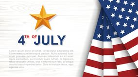 4th of July - Background for USAUnited States of America Independence Day. 4th of July - Background for USAUnited States of America Independence Day with white stock illustration