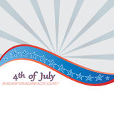 4 th of july background . Royalty Free Stock Images