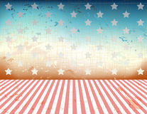 4th of July background. Vector of  US patriotic old Royalty Free Stock Image