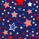 4th of July background Stock Images