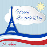 14th July Bastille Day Stock Photo