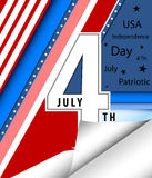 4 th july cards Stock Photos