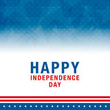 4th of July celebration background. Vector illustration. Royalty Free Stock Images