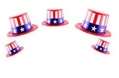 4th of July celebration hat.  Stock Image