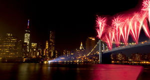 4th of July celebration New York City (2014) stock images