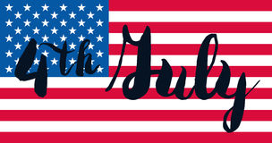 4th July Day Royalty Free Stock Photo