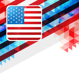 4th of july design Royalty Free Stock Photos