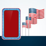 4th of july design Royalty Free Stock Images