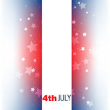 4th of july design Royalty Free Stock Photography