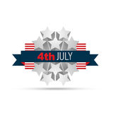 4th of july design Stock Photos