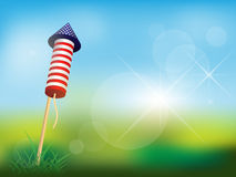 4th of July Firework Stock Image