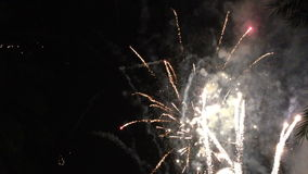 4th of july fireworks stock video