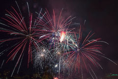 4th of July Fireworks Portland Oregon 2013 Stock Photography