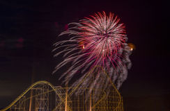 4th of July fireworks Royalty Free Stock Images